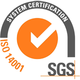 SGS ISO 14001 certification
